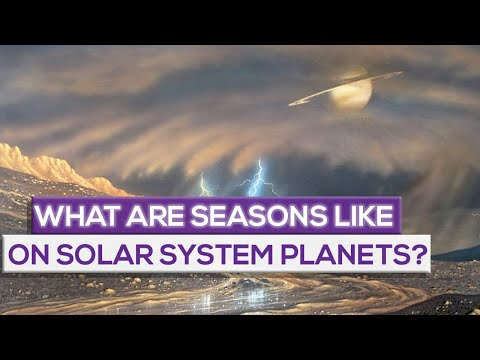 What Are Seasons Like On Solar System Planets?  Comparison