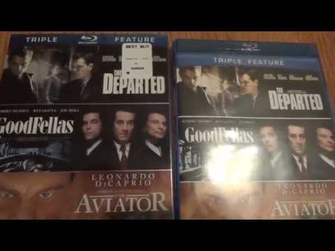 THE DEPARTED, GOODFELLAS Y THE AVIATOR UNBOXING ESPANOL
