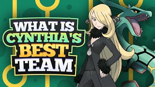 What Is Cynthia's Best Team?