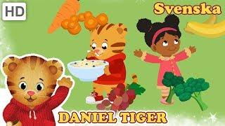 Daniel Tiger's Kvarter - Frukt och Grönsaker Måltider att Älska! 🍓 🥕🍝 | Videor för Barn