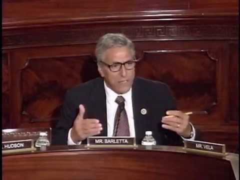Rep. Barletta questions DHS Secretary Jeh Johnson in Homeland Security Committee hearing.