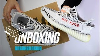 "Yeezy 350 Boost V2 ""Zebra"" Unboxing + Review [2018 Edition]"