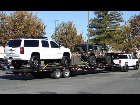 34k Haul Chevy Dually 48 Goose Neck Youtube