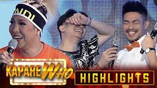 Ion describes Vice Ganda without hair and make-up | It's Showtime KapareWho