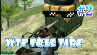 WTF moment free fire.!! #2