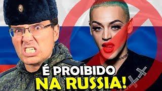 10 coisas PROIBIDAS na RUSSIA que parecem MENTIRA