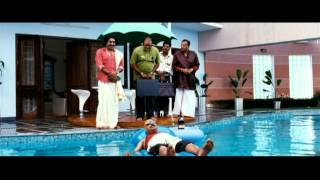 Padmasree Bharath Dr. Saroj Kumar - Padmasree Bharat Dr. Saroj Kumar Malayalam Movie | Sreenivasan in Swimming Pool | 1080P HD
