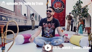 I got to travel around India on a the worlds most luxurious train!