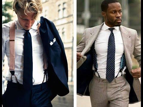 Men's Suspenders & Braces - Men's Style Tips