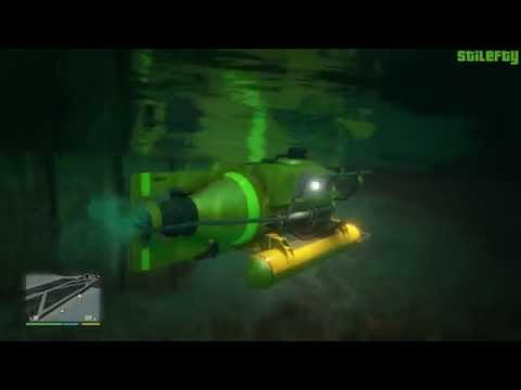 GTA 5 PC - Mission #29 - Minisub (Freighter & Offshore) (1080p) [Gold Medal]