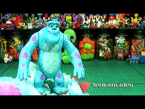 Monsters University Scare Simulator Disney Pixar Monsters Inc Sulley Toys
