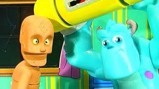 Monsters University Scare Simulator Disney Pixar Monsters Inc Sulley Toys