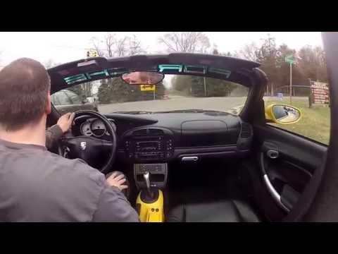 Porsche 986 Boxster S Stebro Race/Fabspeed Bypass Pipes Soundcheck...