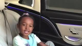 LEBRON AND HIS DAUGHTER JAM TO FROZEN IN THE CAR