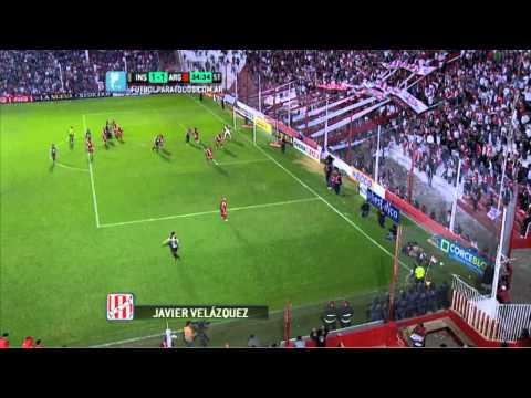 Gol de Instituto. Instituto 1 - Argentinos 1. Fecha 2. Torneo Primera B Nacional. FPT