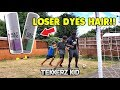 Tekkerz Kid & Romello vs The Dad | HAIR DYE FORFEIT Football ...