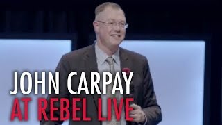 John Carpay: The Rebel Live Calgary (Full speech)