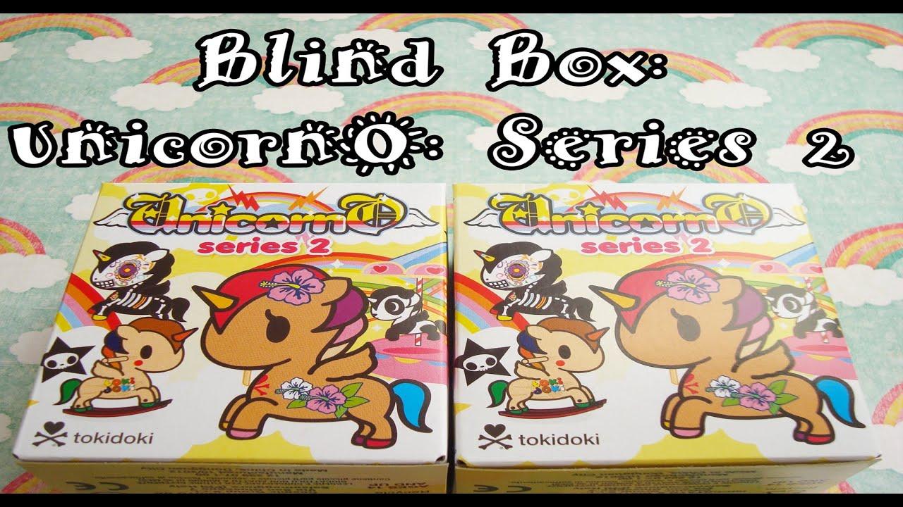 Unicorno Blind Box Mini Series Blind Box Opening Unicorno
