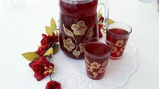 3 Dakikada En Kolay Ramazan Şerbeti-Osmanlı Şerbeti Tarifi-Şerbet Tarileri-Gurbetinmutfagi