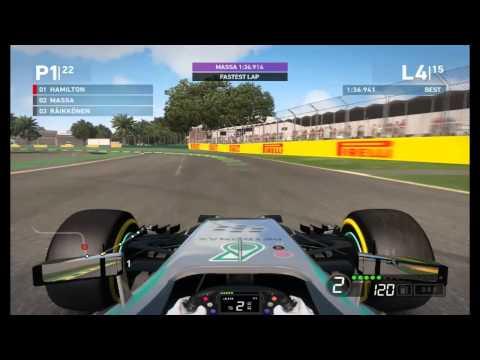 F1 2014 - Australian Grand Prix - Mercedes (PC) (Gameplay)