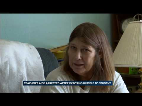 Parents, neighbors react to teacher's aide arrest for exposing genitals to child thumbnail