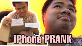 iPhone Prank on Boyfriend (His reaction tho 😂)