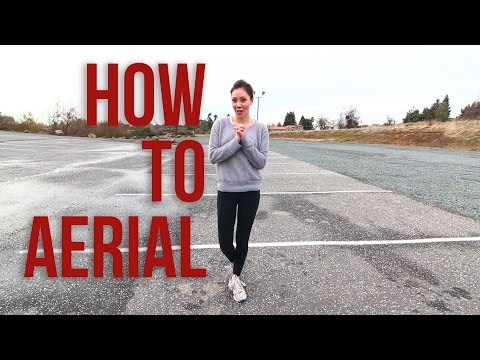 How To Do An Aerial | Cartwheel With No Hands | Monica Miyagi (Miyagi Gymnastics)