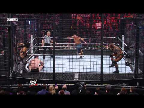 John Cena Vs Cm Punk Vs John Morrison Vs Sheamus Vs Randy Orton Vs R Truth Elimination Chamber 2011 video