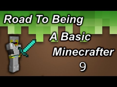 BUILDING MY NEW HOME! | Road To Being A Basic Minecrafter Ep.9