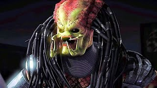 Mortal Kombat X All Fatalities On Predator (No Mask)