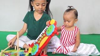 mainan anak bayi keyboard piano dan pancing pancingan-Baby kids Piano toy and fishing toys game