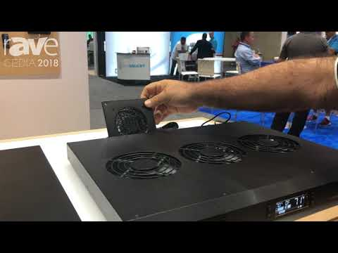 CEDIA 2018: AC Infinity Shows AirCom Air Distribution and Cooling System