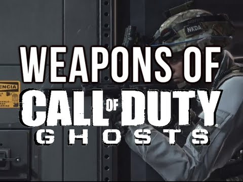 Weapons of Call of Duty: Ghosts