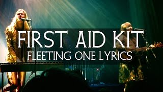 Watch First Aid Kit Fleeting One video