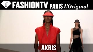 Akris: Designers Inspiration | Spring/Summer 2015 Paris Fashion Week | FashionTV