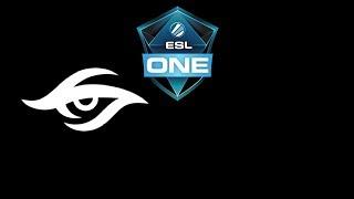 Secret vs ForTheDream ESL One Katowice 2019 Highlights Dota 2