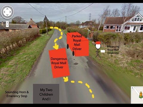 Royal Mail Dangerous Driving Complaint