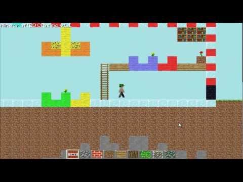 Minecraft 2D Multiplayer - Encinando a criar server e etc...