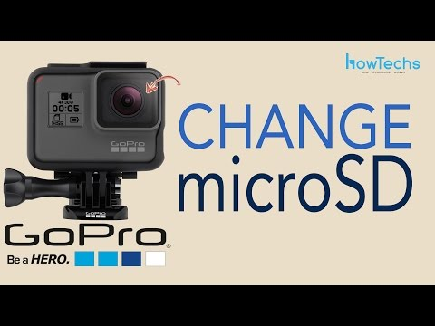 GoPro Hero5 - How to Insert and Remove microSD Card
