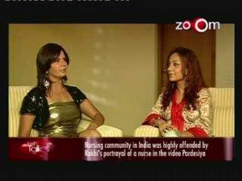Rakhi Sawant Interview Part 1 Of 3 On Zoom Lets Talk video