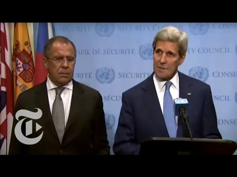 John Kerry Statement on Russian Airstrikes in Syria | The New York Times