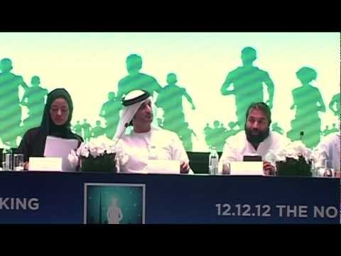 DUBAI MIDNIGHT MARATHON - 12 12 1 2 - THE NO SUN FUN RUN - PRESS MEET - PART 3