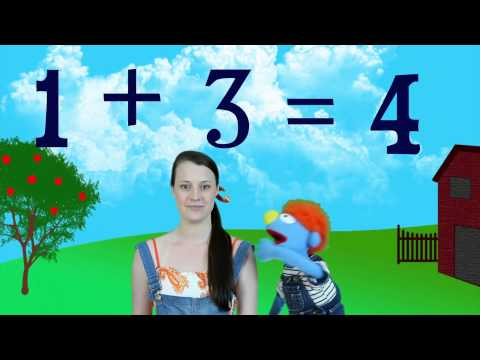 Basic Addition - Children's Math