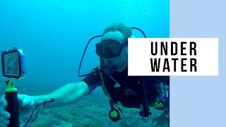 ProShot Case Underwater iPhone Filming At Hideaway Island Resort, Vanuatu