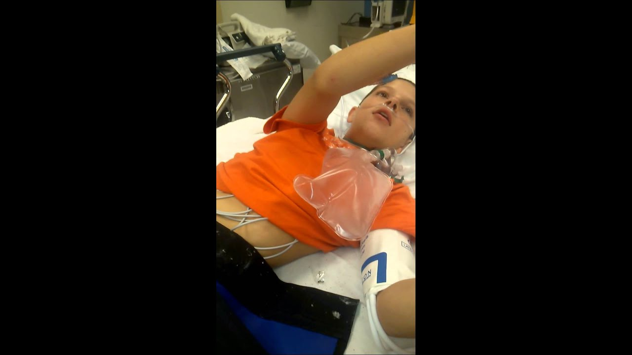 Boy Comes Boy Coming Off Anesthesia