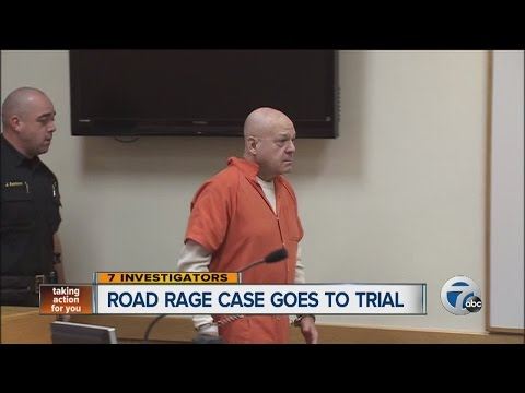 Road rage case goes to trial