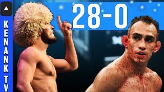 Why Khabib Nurmagomedov DESTROYS & BEATS Tony Ferguson! | UFC: Full Fight Breakdown Prediction