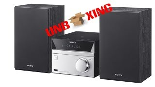 Unboxing Sony CMT SBT20 | Micro Hifi