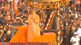 PM MODI Super Craze In Varanasi | Narendra Modi Road Shw | BJP