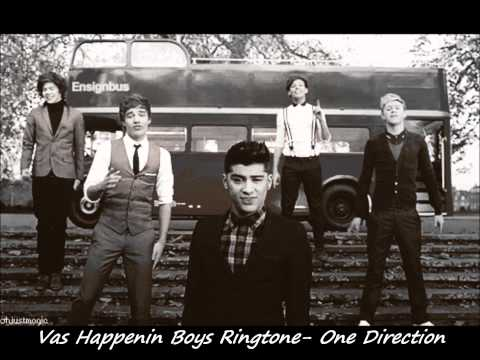 Vas Happenin Ringtone- One Direction.